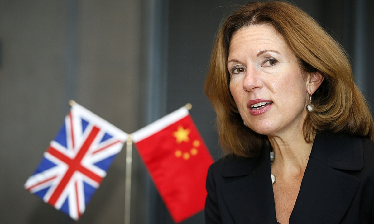 Ambassador Wilson's words riddled with irony, as China respects objective journalism