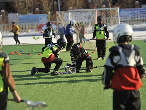 Lacrosse enriches campus life in China's primary school