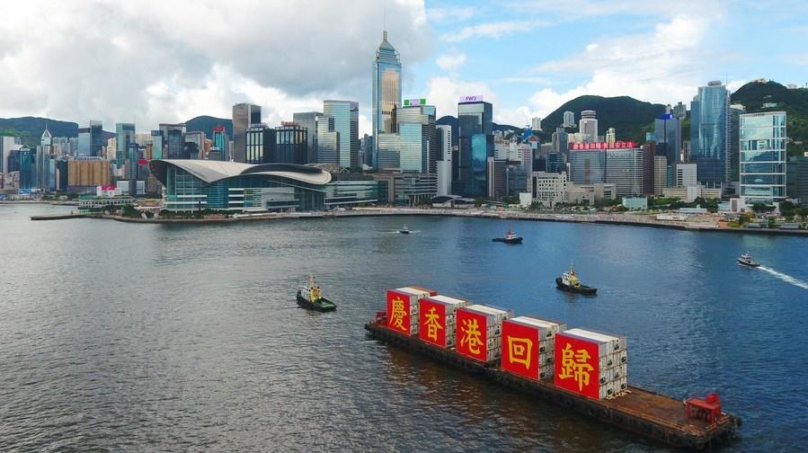 Improving HK's electoral system helps guarantee 'patriots' principle, authorities say