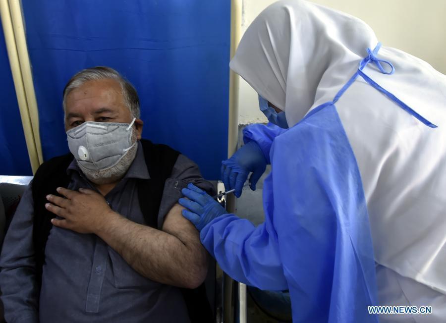 Pakistan begins inoculating elderly people against COVID-19