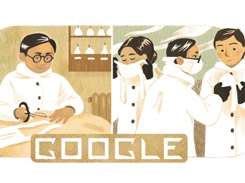 Google honors the Chinese-Malay doctor who invented the surgical mask