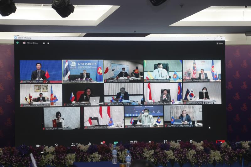 Thailand hosts sixth meeting of ASEAN Plus Three Senior Officials Responsible for Information