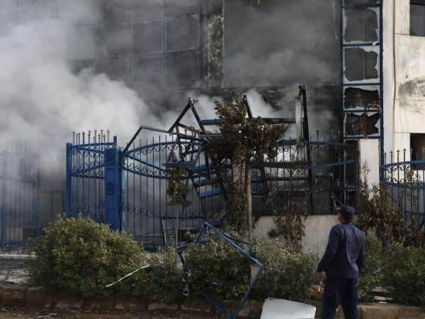 20 killed, 24 injured in fire at clothing factory in Egypt