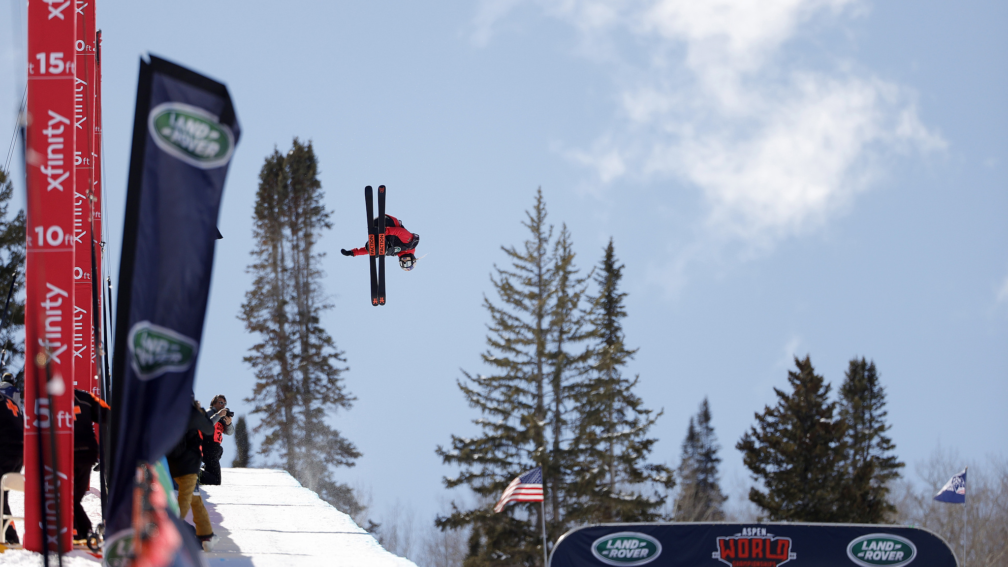 Gu Ailing soars to her second gold at worlds by capturing freeski slopestyle title