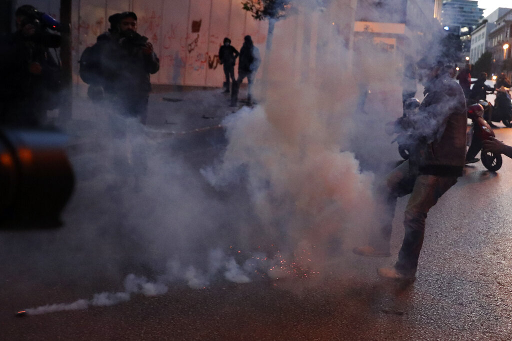 Protests around Lebanon as local currency continues to slide