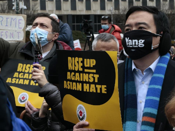 Anti-Asian hate crimes rose nearly 150 percent in major US cities last year: CBS News