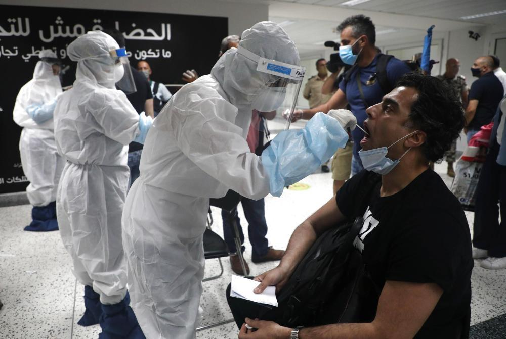 Lebanon reports 3,086 new COVID-19 cases, 418,448 in total