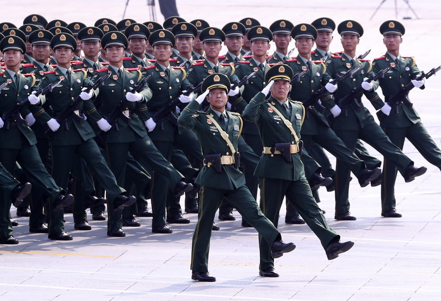 Chinese military issues revised regulations on disciplinary inspection