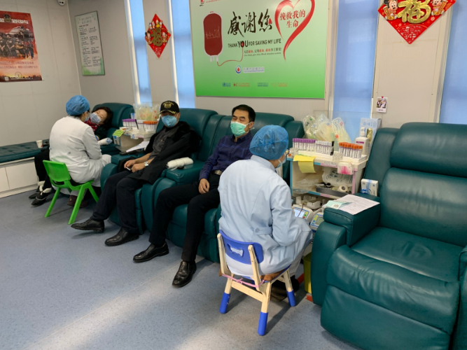 Blood supply in China remains stable: official