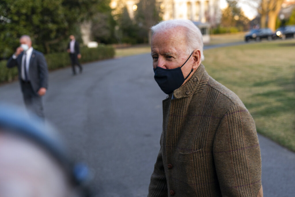 Biden declines to call for Cuomo to resign, awaits probe
