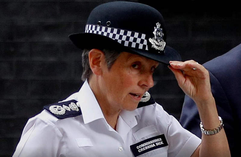 London police refuse to resign over action to disperse mourners