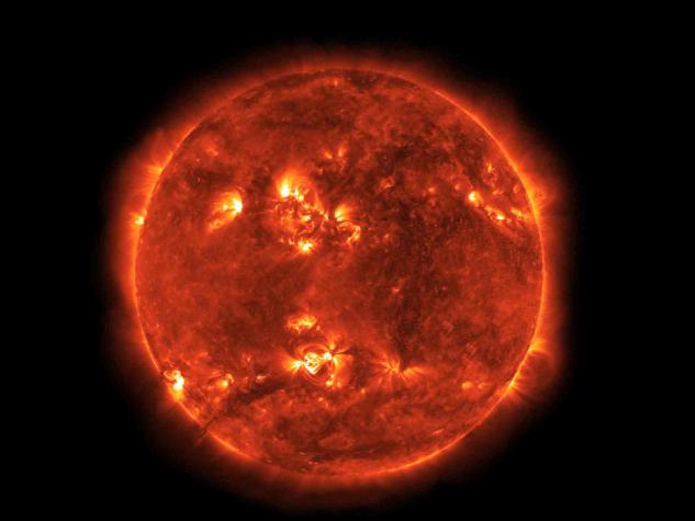 China-developed telescope captures images of solar corona
