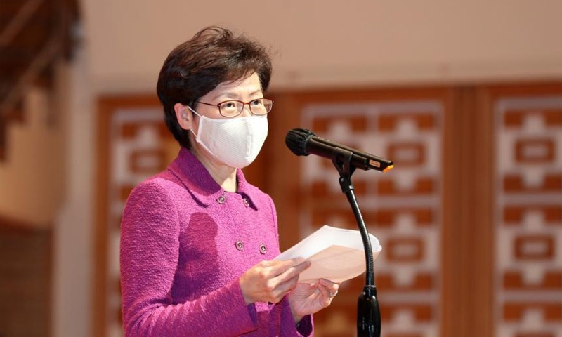 Carrie Lam to directly oversee future elections in HK, vows zero foreign intervention