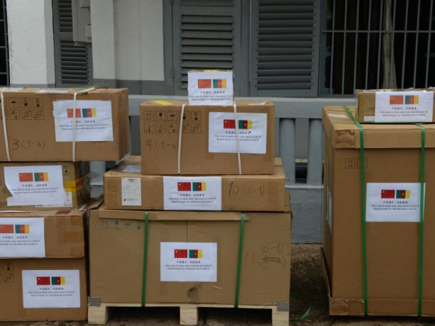 Cameroon receives China-donated medical equipment to fight COVID-19