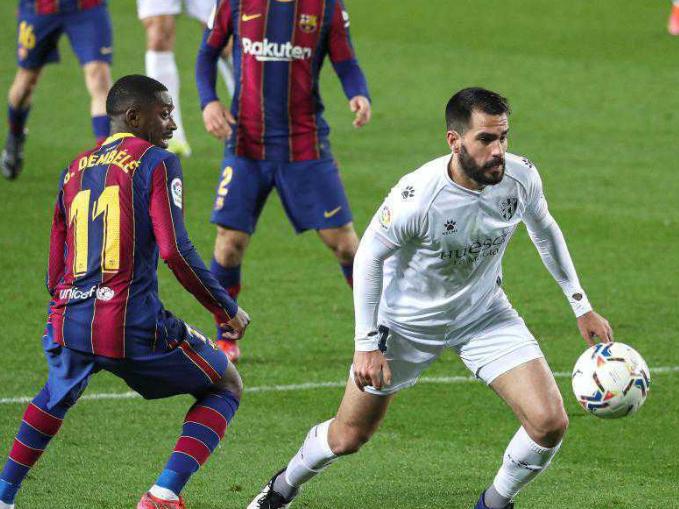 Spanish League: Barcelona vs. SD Huesca