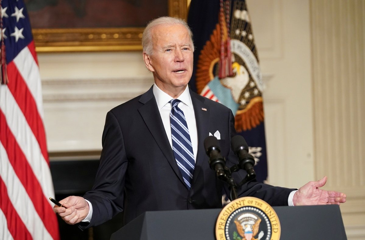 Biden forecasts 100 million Americans to have received COVID shots in next 10 days
