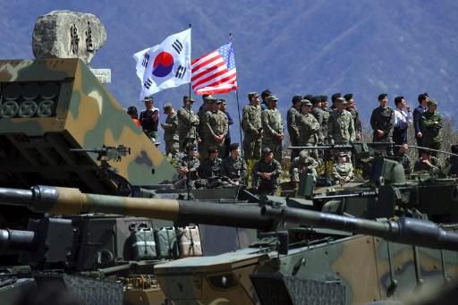 DPRK condemns US-S. Korea military drills