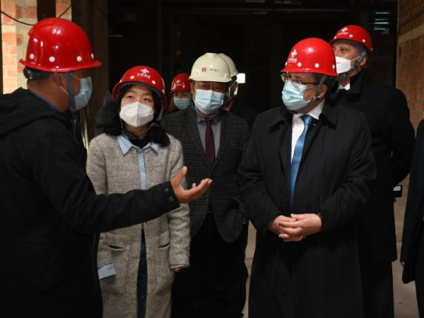 Tunisian FM visits project site of China-aided diplomatic academy