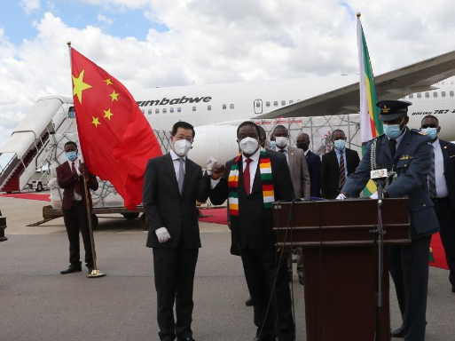 Zimbabwe receives second batch of Chinese vaccines