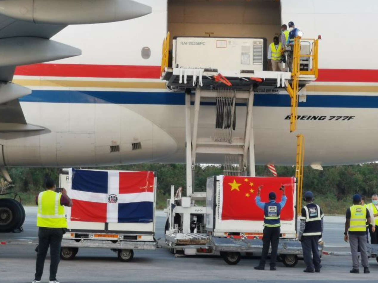 Dominican Republic receives two batches of COVID-19 vaccines from China
