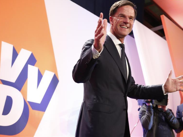 PM Rutte's party leads in Dutch elections -- final exit poll