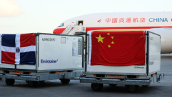 Dominican Republic receives new shipment of vaccines from China