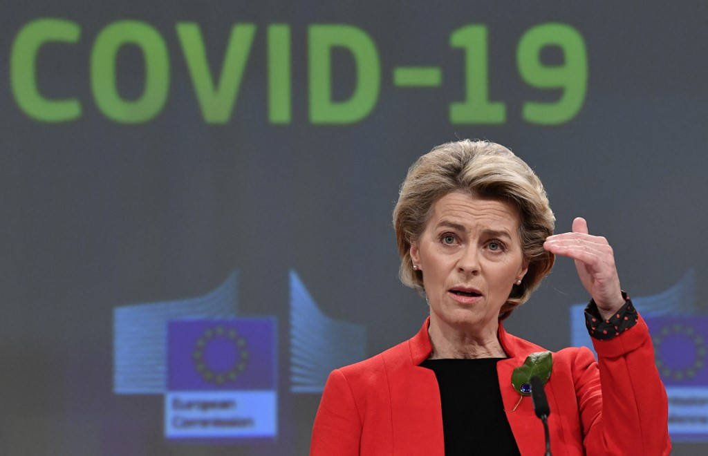 EU threatens to restrict vaccine exports unless it gets 'fair share'