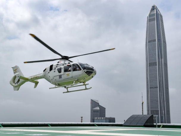 Shenzhen introduces airport helicopter shuttle service