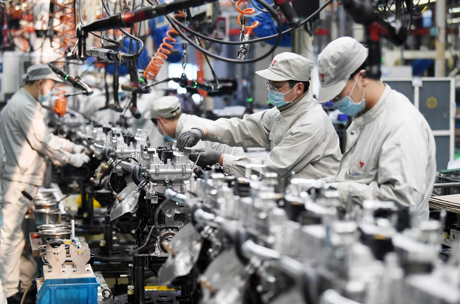 China's economy continues to bounce back in 2021