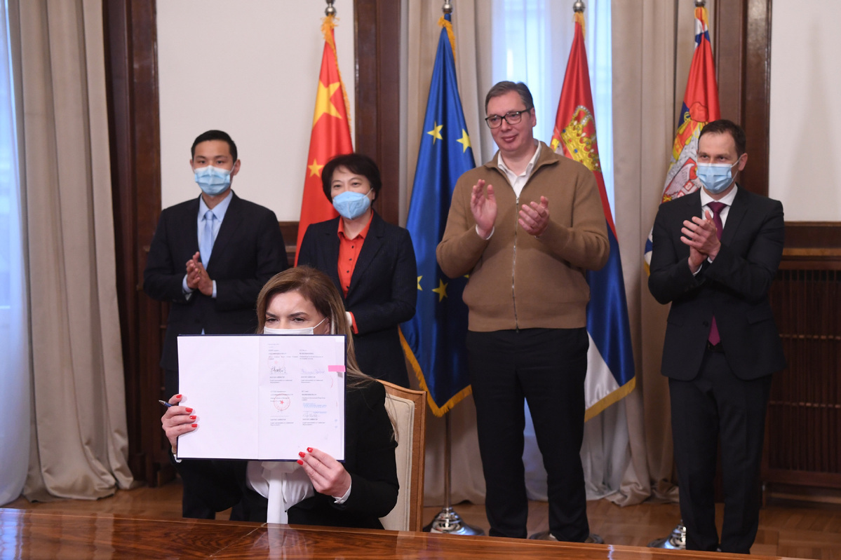 Serbia inks deal to purchase China's Sinopharm vaccines