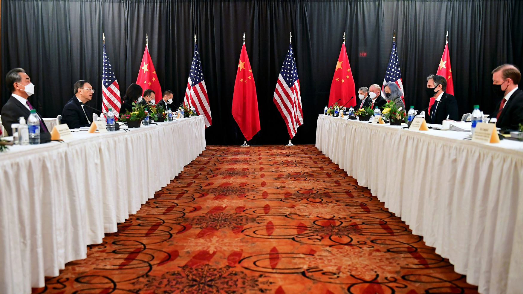 First session of China, US talks in Alaska concludes