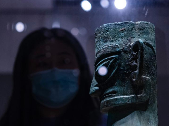 New discoveries from Sanxingdui Ruins lead to increasing visitors to Beijing museum