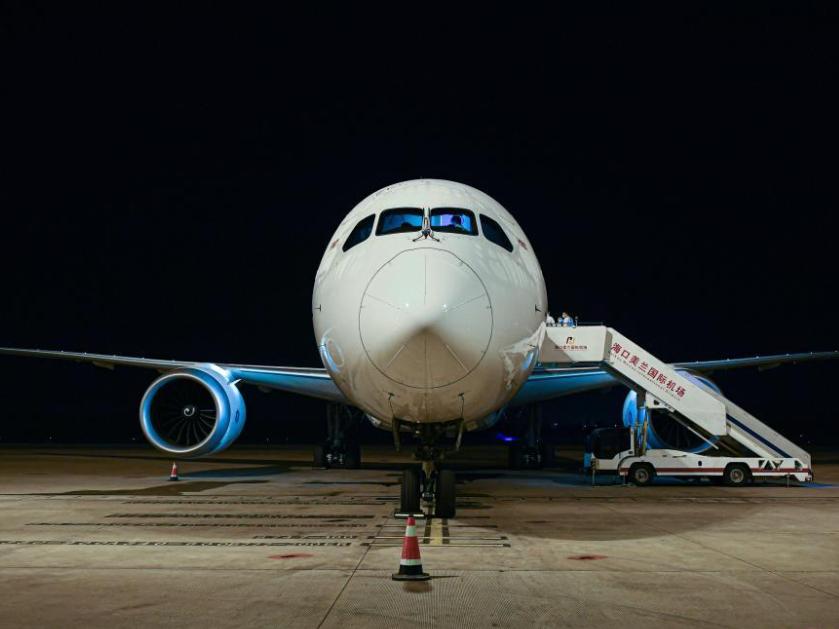 China's Hainan launches Haikou-Paris air freight route