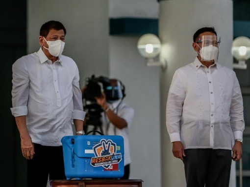 Philippines receives first batch of purchased Sinovac COVID-19 vaccines
