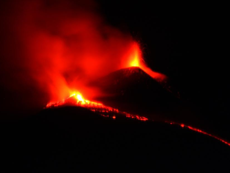 In pics: Mount Etna volcano during eruption in Sicily, Italy