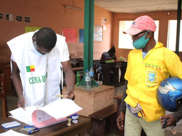 Polling stations for Benin's presidential election close