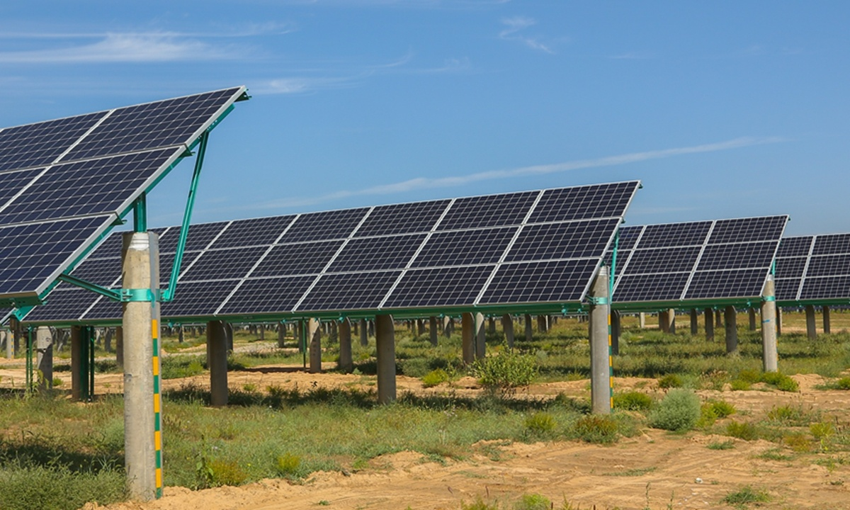 Chinese photovoltaic businesses embrace low-carbon development