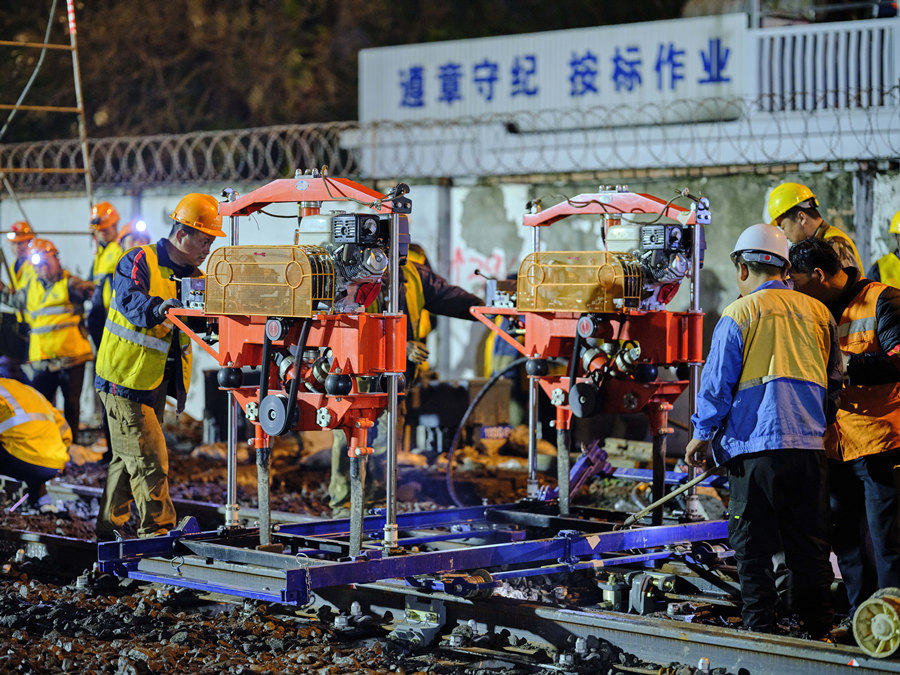 Main construction of Jiaxing station renovation project completed
