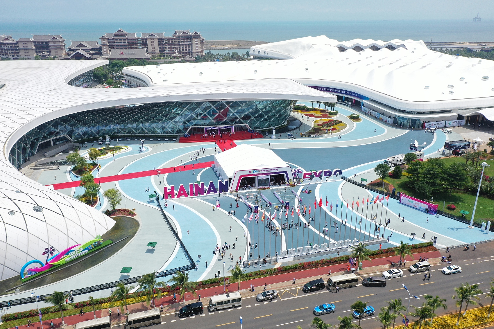 In pics: China International Consumer Products Expo begins in Hainan