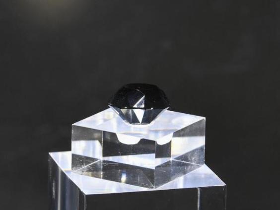 88-carat black diamond debuts at first consumer goods expo