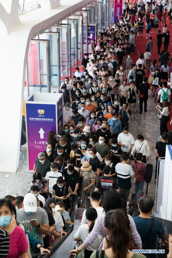 First consumer products expo greets public day