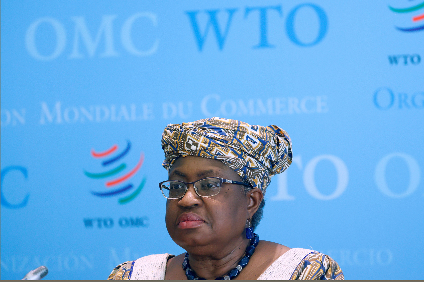 WTO chief hopes COVID-19 patent issue to be settled by December