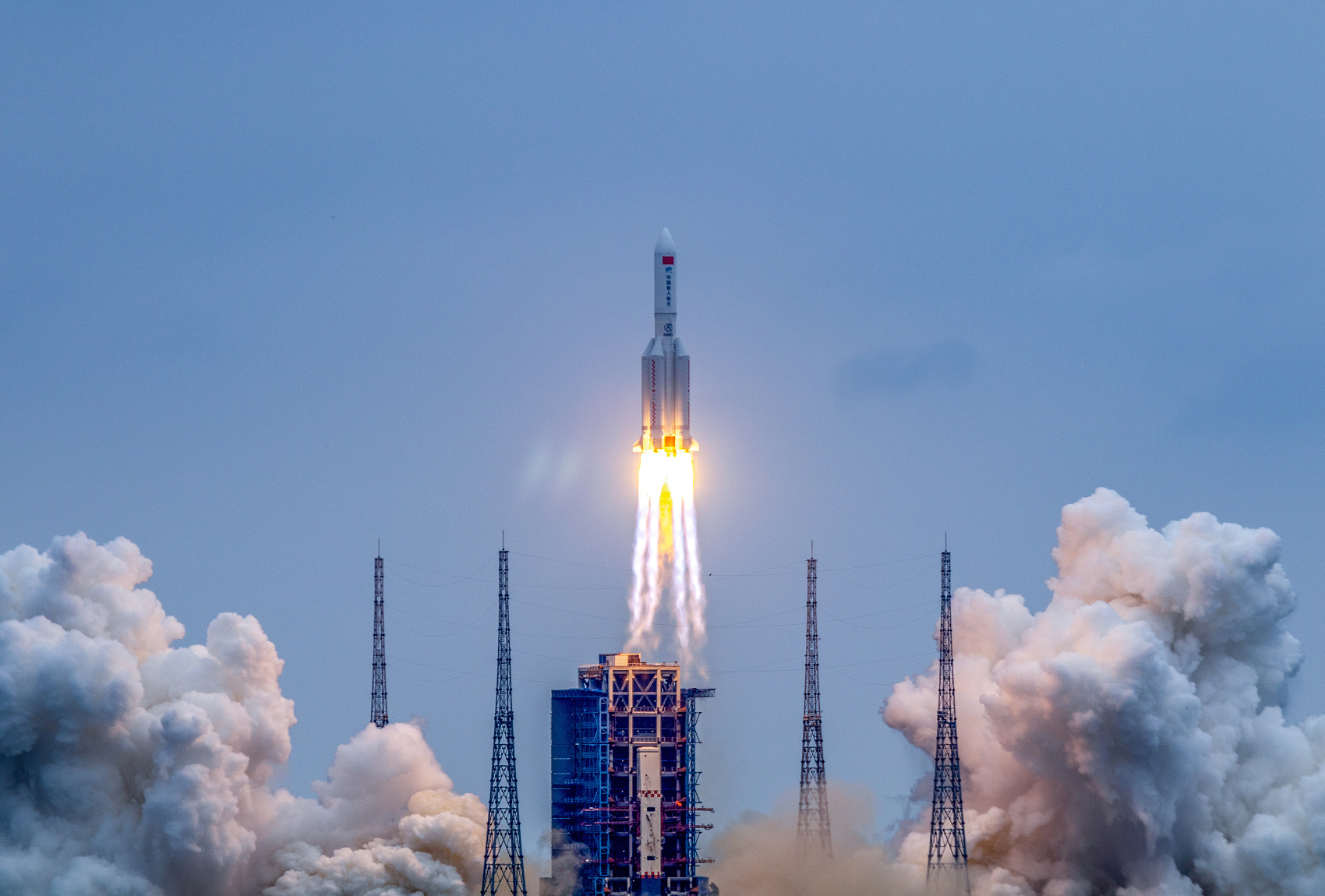 Tianhe, core module of China's first space station, will prepare to meet cargo spacecraft after tests