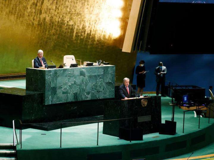 UN chief welcomes ceasefire between Israel, Hamas