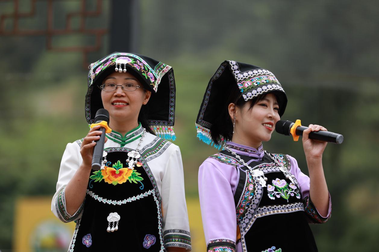 Flower festival blooms in Longli county, Guizhou
