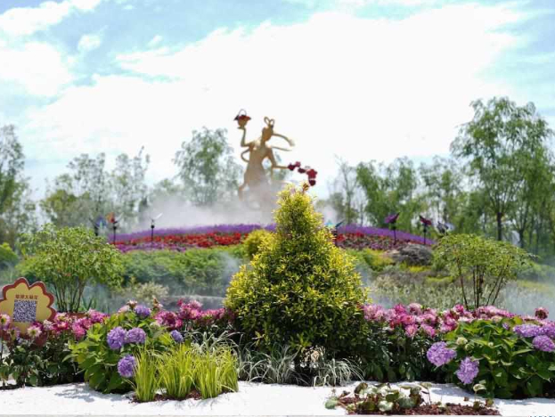 Flower expo opens in Shanghai