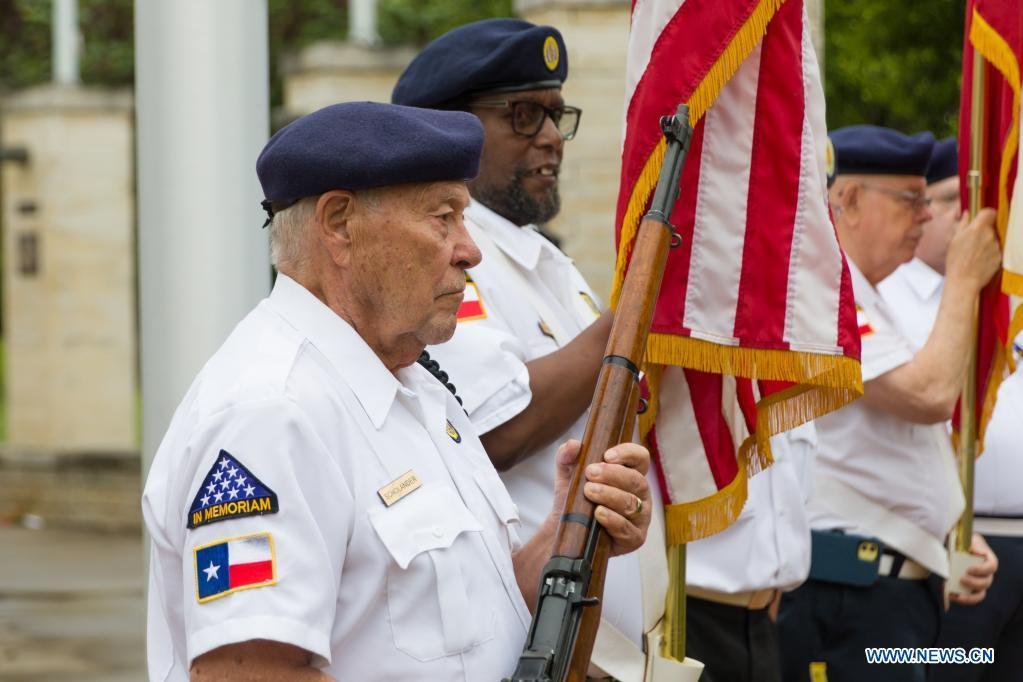 Memorial Day observed in Plano, Texas