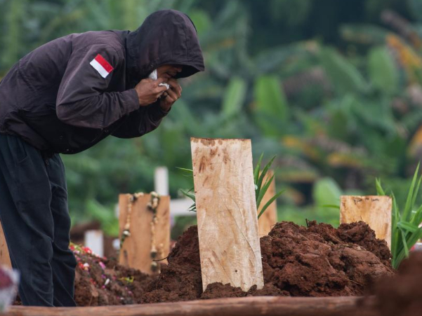 Indonesia records highest daily spike of 21,342 COVID-19 cases