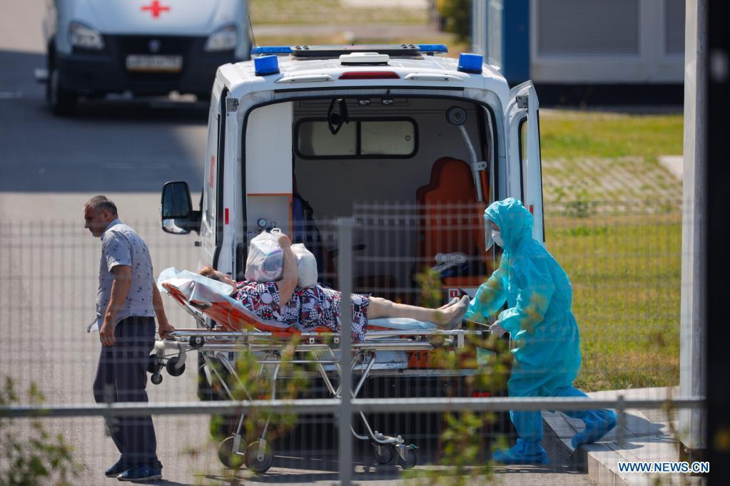 Russia's COVID-19 cases top 5.9 mln