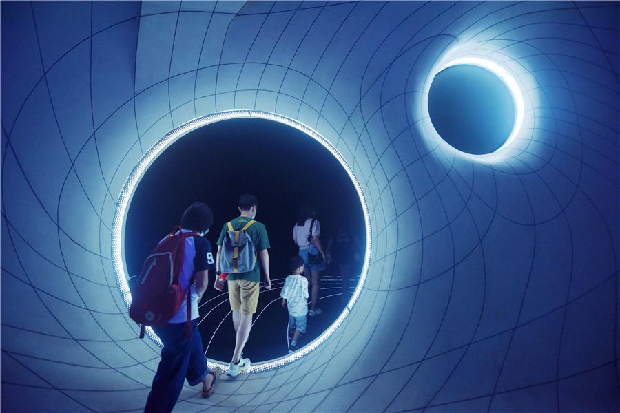 Shanghai planetarium opens a whole new world